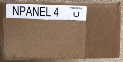 nLiGHT NPANEL-4 120/277V 4 RELAY 0-10 DIMMING PANEL