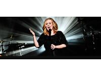 Tickets for Adele concert in WEMBLEY London