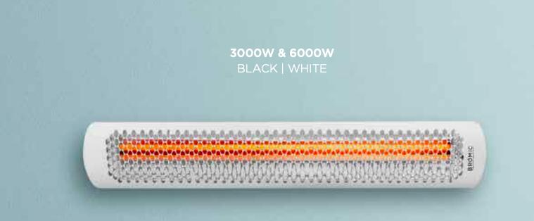 Bromic Smart Series Tungsten Electric 3000W 220V-240V Black