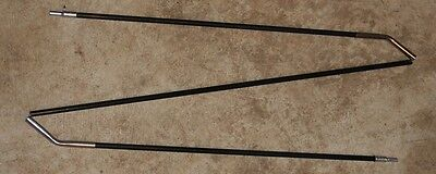 Fiberglass Tent Pole 3//8in Black Dia 9.5mm 5 Sect 97.75 inches long