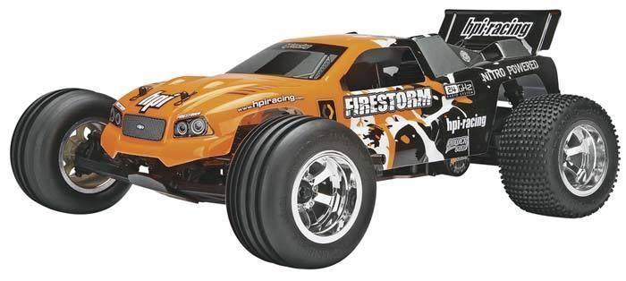 Features of the HPI Firestorm RC Car