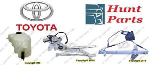 Toyota Rav4 Rav 4 2001 2002 2003 2004 2005 Window Regulator Wheel Bearing Hub