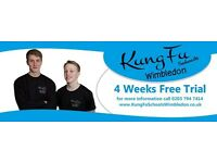 Kung Fu Schools Wimbledon - 4 Week Free trial - Childrens classes Ages 4 - 12