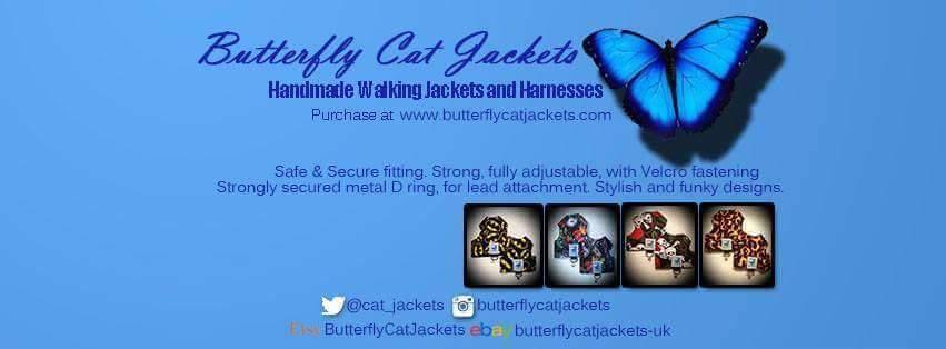 Butterfly Cat Jackets