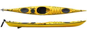Kayak de Mer 2017 Britany de Riot 17'servi 3 fois 1Rouge1 Jaune