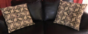Decorative couch cushions