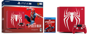 Spider-man Limited Edition 1TB PS4 NEW IN BOX