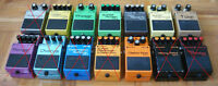 Boss MIJ Japan (DS1 SD1 PH1 etc) Lovepedal Eternity Aphex Xciter
