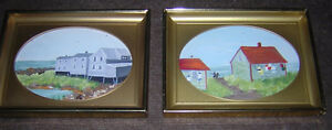 2 SMALL PAINTINGS BY WOLFVILLE ARTIST BOBBIE MORTENSEN