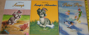 Qty 3 x Lg Hard Cover Disney Books  Scamp's & Peter Pan London Ontario image 1