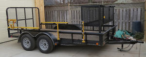 2014 Load Trail Utility 83x14 London Ontario image 2