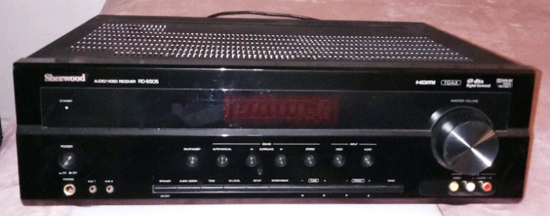Sherwood high-power amp, $140 | Home Theatre Systems