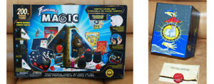 2 Professional Magic Sets for beginners , 200+ tricks, Good cond