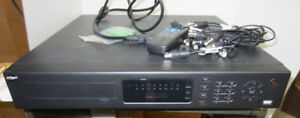 Used 8 Channel analog CCTV system.