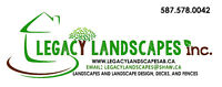 Legacy Landscapes Seeking Labourers, Lead Hand and a Foreman