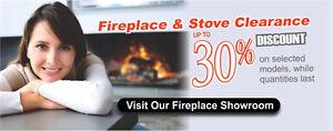 Fireplace Showroom Display Discount