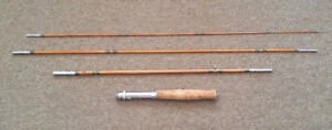 1940s-60s made in Japan 8'  bamboo fly/spinning rod