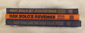 Star Wars Original Han Solo Adventure Hardcover Trilogy Books by
