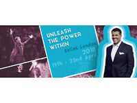 See Tony Robbins Live at UPW London Excel ** UNLEASH THE POWER WITHIN LONDON 2018 EVENT ** Special