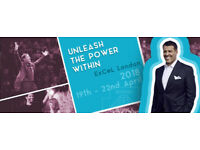 Tony Robbins UPW London 2018 Tickets Anthony Robbins Live at London Excel‎ Unleash The Power Within‎
