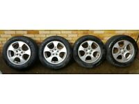 subaru forester alloys 5x100