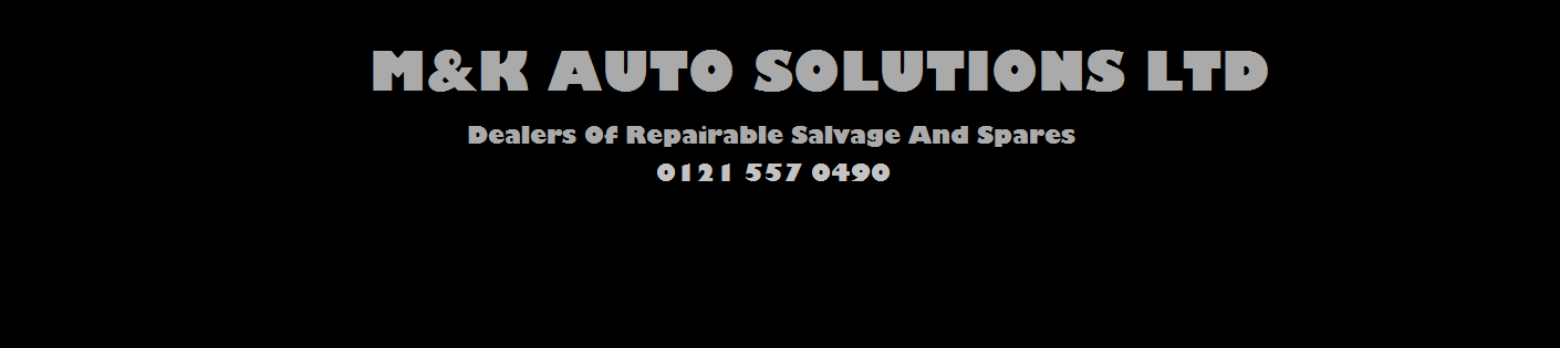 M&K AUTO SOLUTIONS LTD