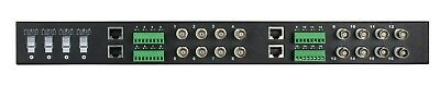HD Passive Video Transceiver Hub Rack Mountable - 16 Channel NEXXT Solutions