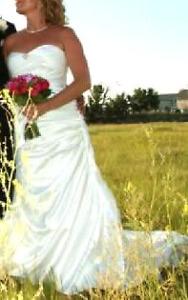 Mori Lee size 10 wedding dress unaltered