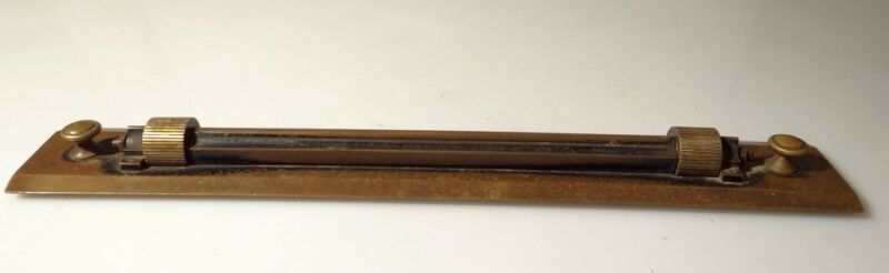 ANTIQUE BRASS ROLLING RULER