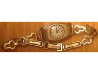 LOVELY LADIES INGERSOLL VINTAGE ROLLED GOLD WATCH