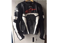 Alpinestars leather jacket (postage available)