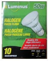 Luminus 50W Halogen Par20 Flood lights