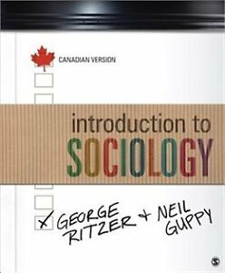 introduction to sociology - canadian version