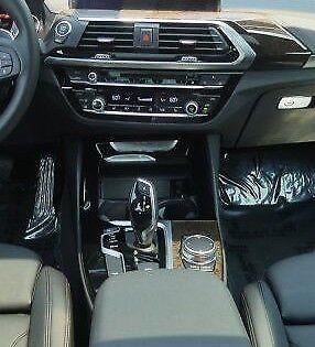 BMW OEM G01 X3 2018+ G02 X4 2019+ Dark Oak High Gloss Wood Interior Trim Kit New for sale  Shipping to Canada
