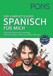 PONS Spanisch für mich: Der komplette Sprachkurs. Schrit... | Buch | Zustand gut