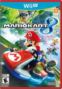 Mario Kart 8 Nintendo Wii U *used*