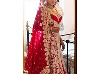 Stunning Indian bridal gown