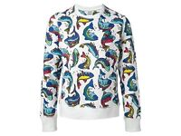 kenzo fish sweatshirt