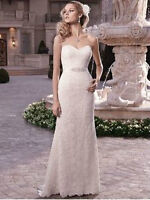 Never Worn Ivory Lace Wedding Dress for Sale - Make an Offer