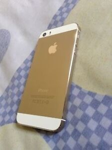 Iphone 5s gold in good condition. Mts locked