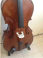 Cello 4/4 Spruce /Maple -New Bow,New Soft Case- Price Reduced
