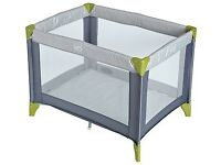 Travel cot - nearly new. Used 6 times