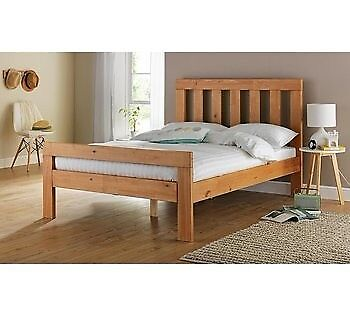 Collection Chile Kingsize Bed Frame - Oak Stain