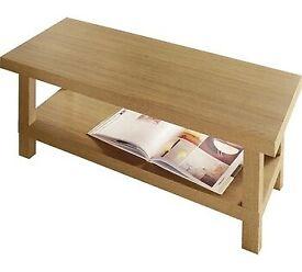 Home Stratford Chunky Coffee Table - Oak Effect