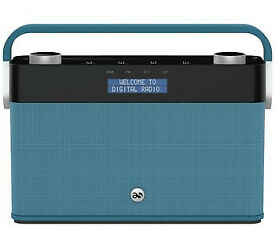 ACOUSTIC SOLUTIONS Rechargeable Digital Radio - £30 OFF - DAB - LITHIUM - NEW - BOXED - GIFT