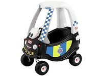 A Little Tikes Poilce Car
