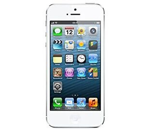 White 16GB iPhone 5 with Bell/Virgin (Mint condition)
