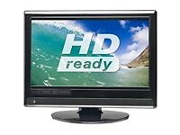 Essentials 15 Inch HD TV, LCD, Build in Digital, Remote. Fully working. NO OFFERS