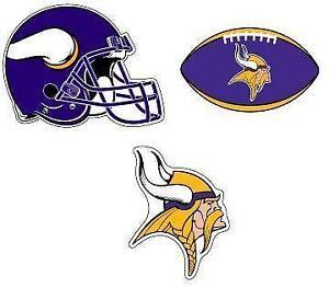Minnesota Vikings Helmet Decals 2ca5f6d96
