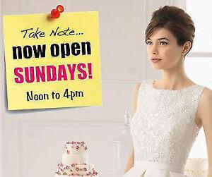 STELLA'S IS NOW OPEN SUNDAYS! WEDDING, GRAD, & BRIDESMAID DRESS!